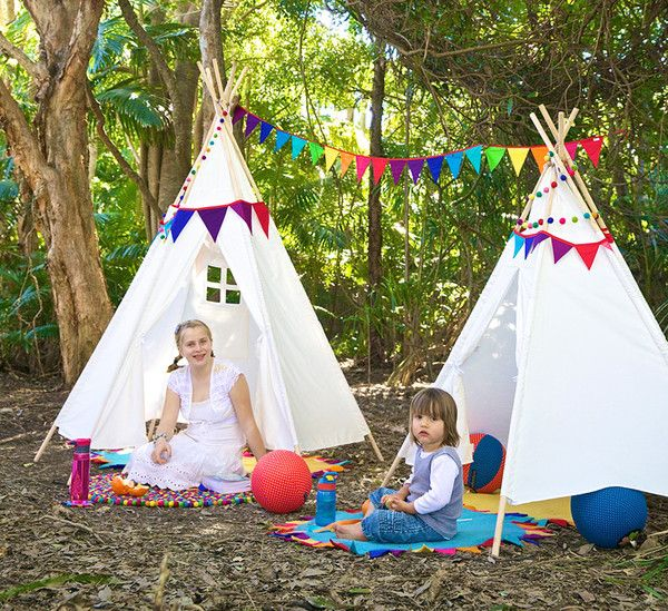 nic-nac design great stuff for kids - I love their teepees best