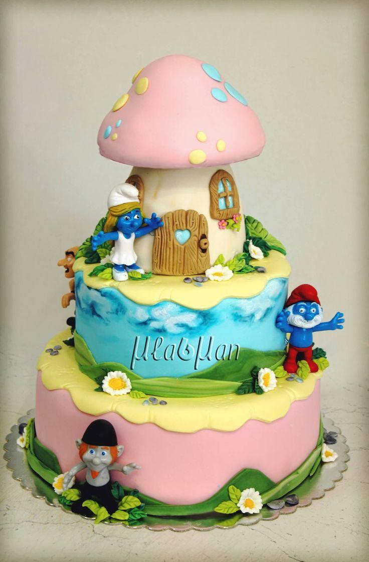 Smurfs Mladman Cakes 52 best Smurf