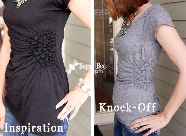 Side shirt tutorial