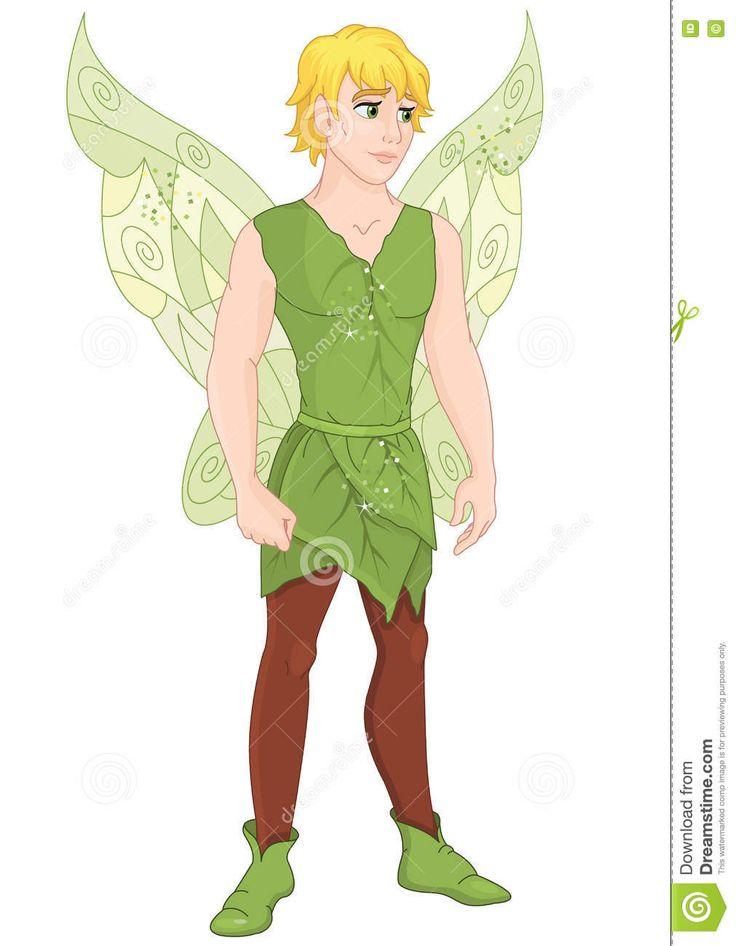 Fairy Boy Stock Vector - Image: 75038150 | Fairy cartoon ...