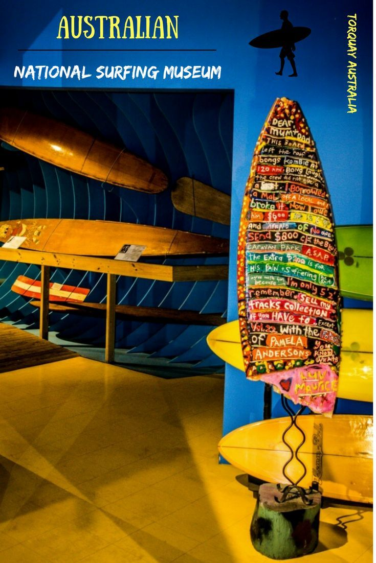 Hang 10 at the Australian National Surf Museum at Torquay. This little museum rides a big wave of surfing history past and present _____________________________ | Things to do in Geelong | Australian surfing | Bells Beach Australia |  Torquay Australia | The Surf Coast Australia | Places to surf in Australia | Australian museums |