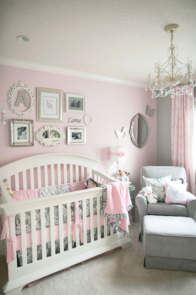 Babies Nursery Decorating Ideas Pretty in Pink: 55 Pink Nurseries | for my future kiddos | Girl nursery,  Baby, Baby Room