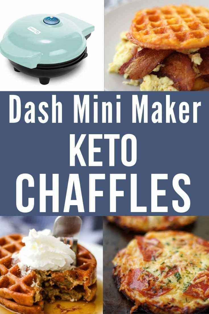 Dash Mini Waffeleisen für Chaffles (Bezugsquellen)