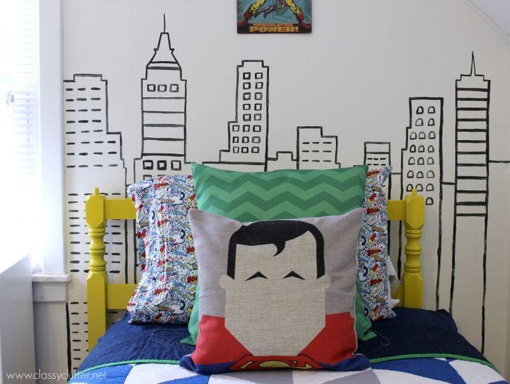 17 Best Ideas About Superhero Boys Room On Pinterest