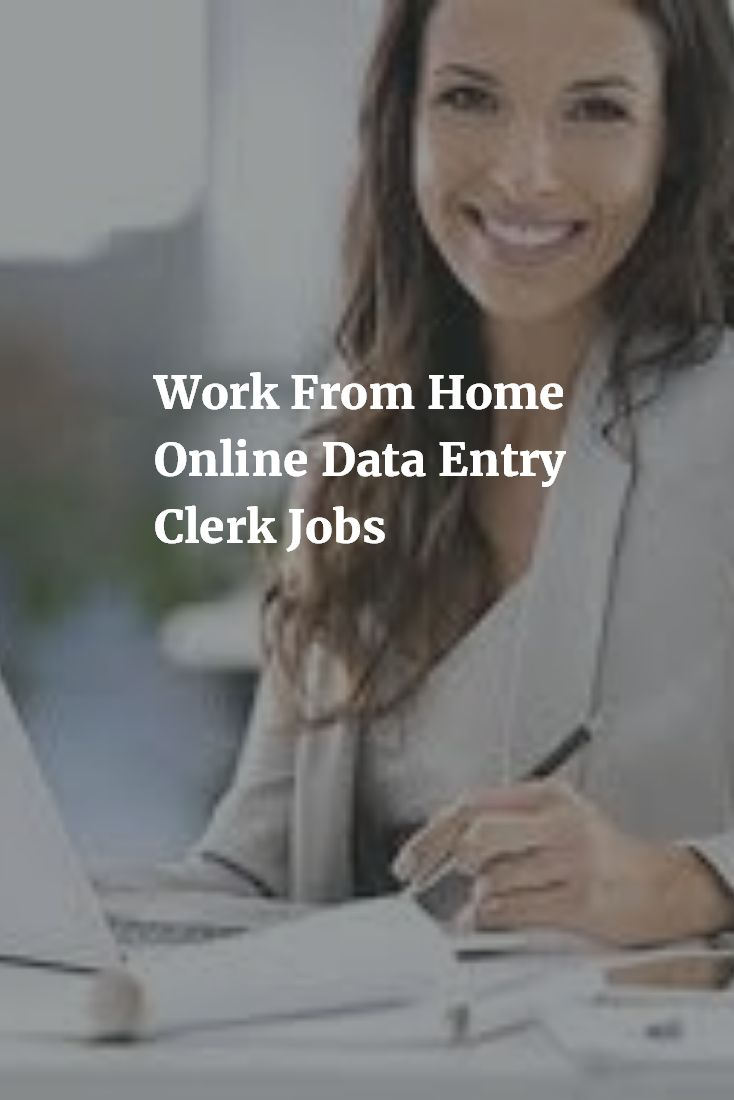 Work from home online data entry clerk jobs available in here. If you are interested, you can apply here. And start work from home.