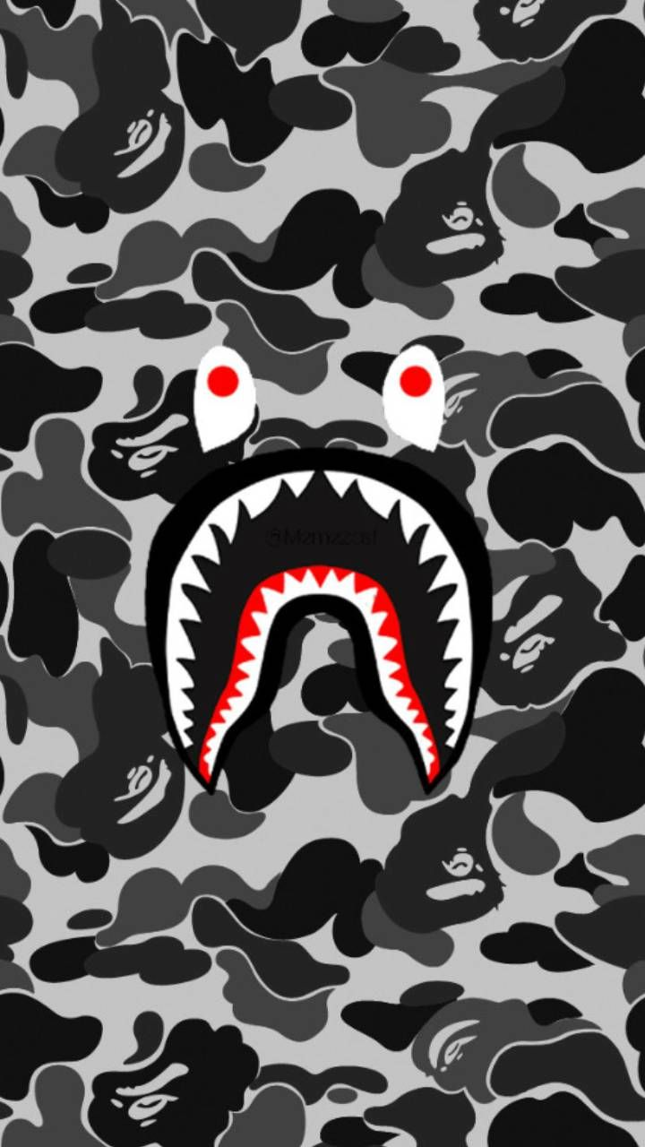 Download Bape no color Wallpaper by RicoAye - 4b - Free on