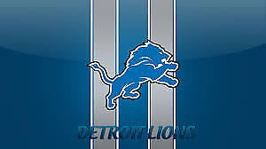 #tickets 2 Detroit Lions vs Chicago Bears 12/16/2017 4:30 PM 124-35 mobile tix Ford Field please retweet