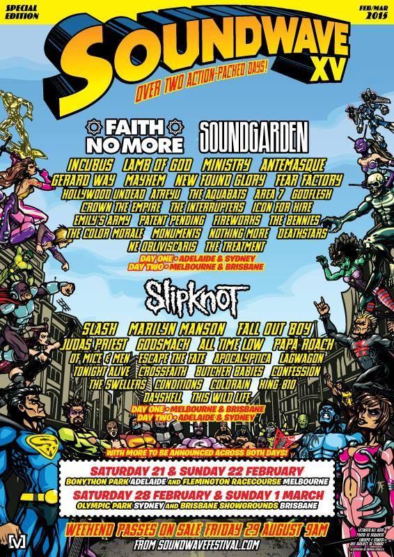 Soundwave XV 2015