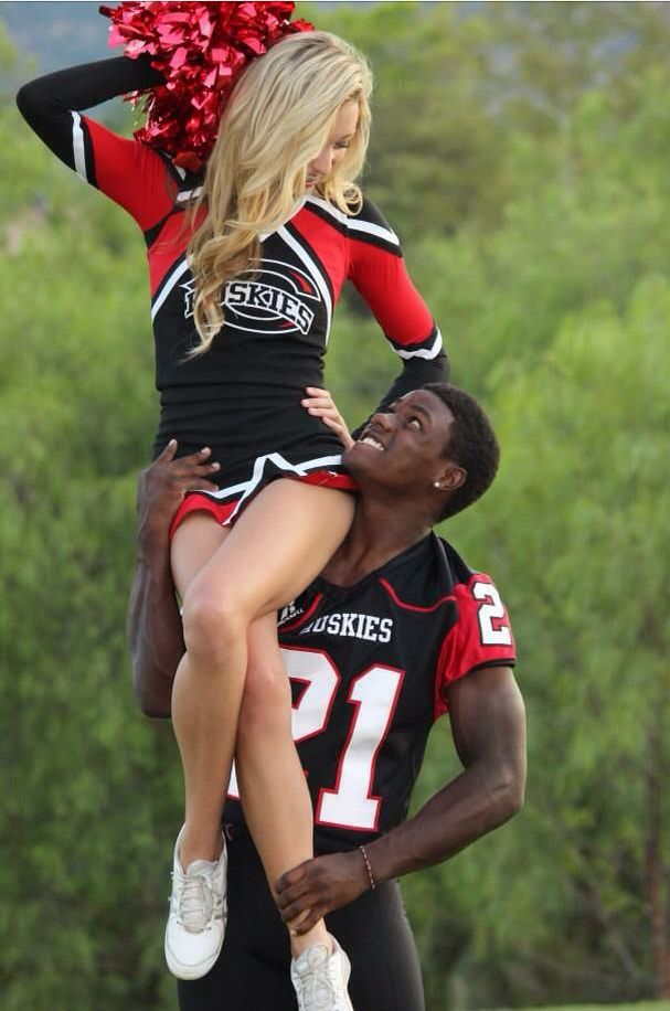 Cheer Football Couples