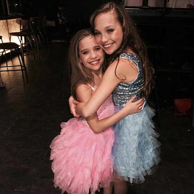 "Maddie Ziegler behind the scenes of MackZ's music video ""It's A Girl Party"" [2014]"