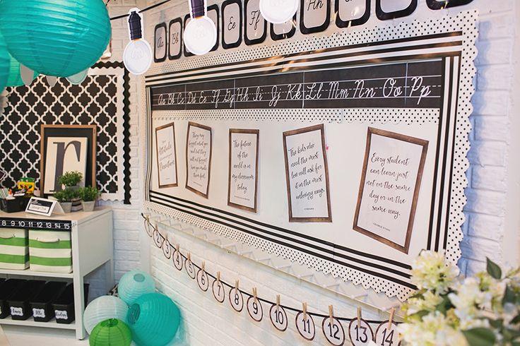 Classroom decor and themes for teachers Classroom organization, decorating ideas, bulletin boards, printable classroom decor