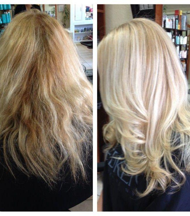 can olaplex fix damaged hair