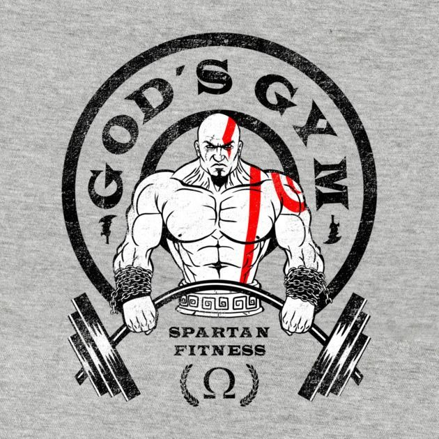 GOD'S GYM T-Shirt $11 God of War tee at RIPT today only!
