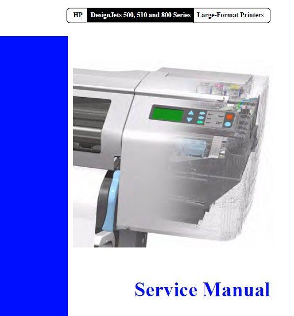 hp designjet 3500cp service manual