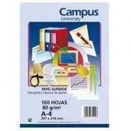 Papel A4 Campus University paquete 100h blanco