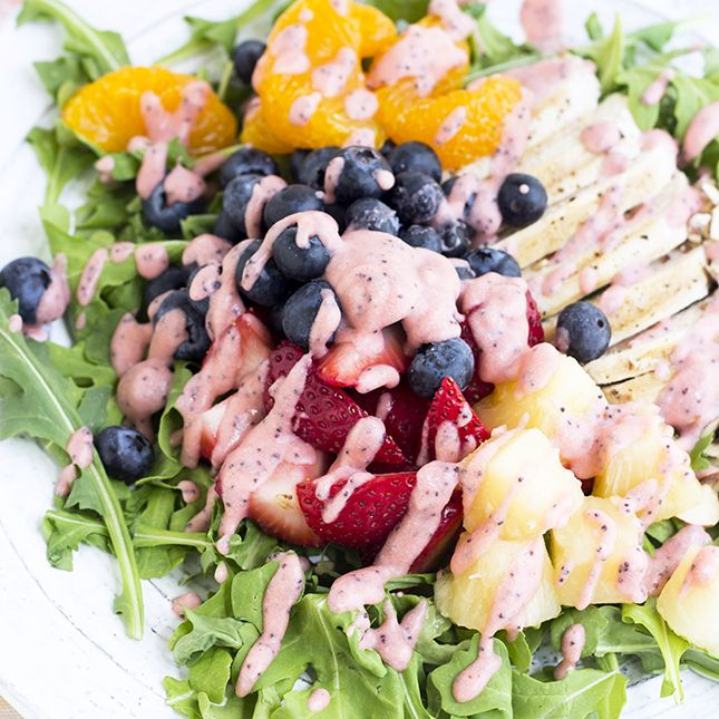 Copycat Panera Strawberry Chicken Salad | Skinny Mom | Where Moms Get the Skinny on Healthy Living