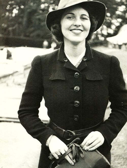 Rosemary Kennedy. She was definitely the prettiest of the sisters.