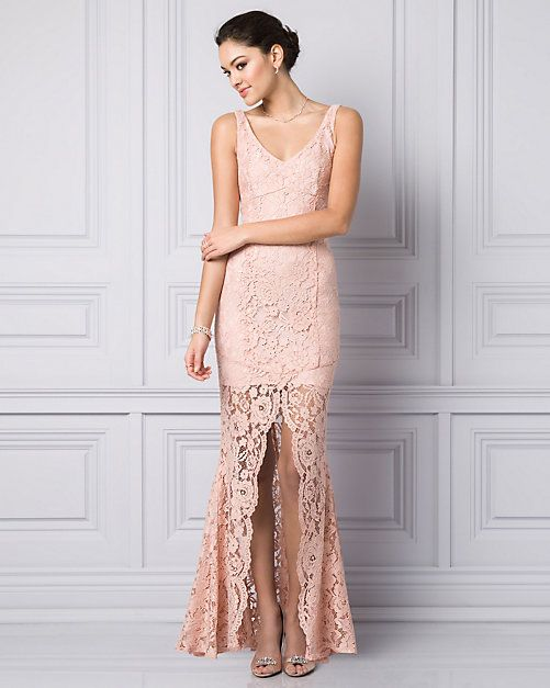 Pastel Pink Dress Perfect For Your Bridesmaids Lecau Styledowntheaisle