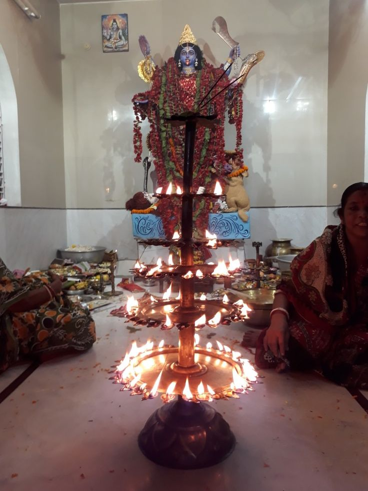 Happy Diwali And Happy Kali Puja  After Anjali