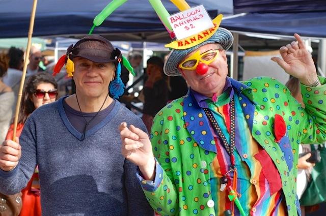 Banana's the Clown & Kids Fishing @ SFM