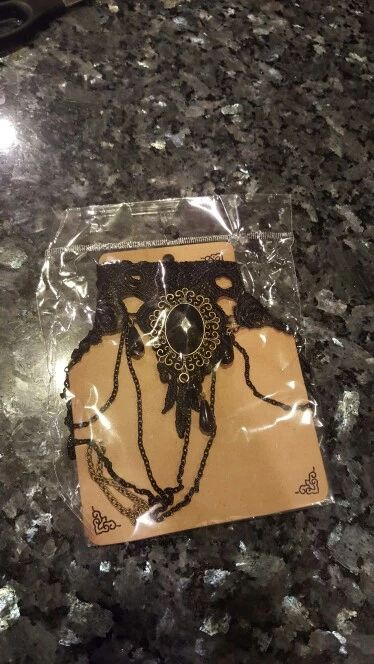 Tienda Online Kittenup Nueva Moda Joyería Gótica de Encaje Negro Corto Collar Gargantilla Declaración Collar Para Las Mujeres Hl0153 | Aliexpress móvil