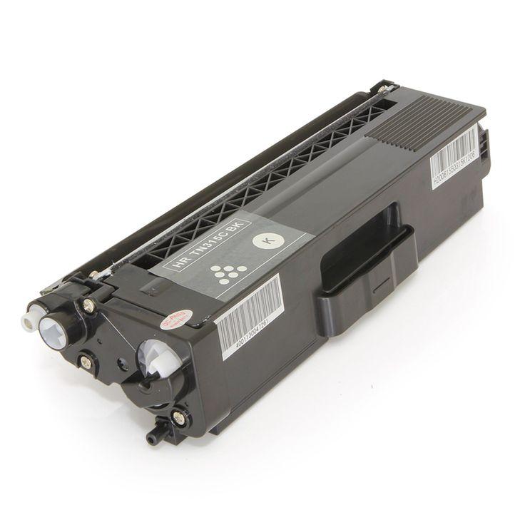 Toner Brother TN315 TN315BK Preto   HL4140 HL4150 HL4570 MFC9970 MFC9460 MFC9560   Premium 2.5k