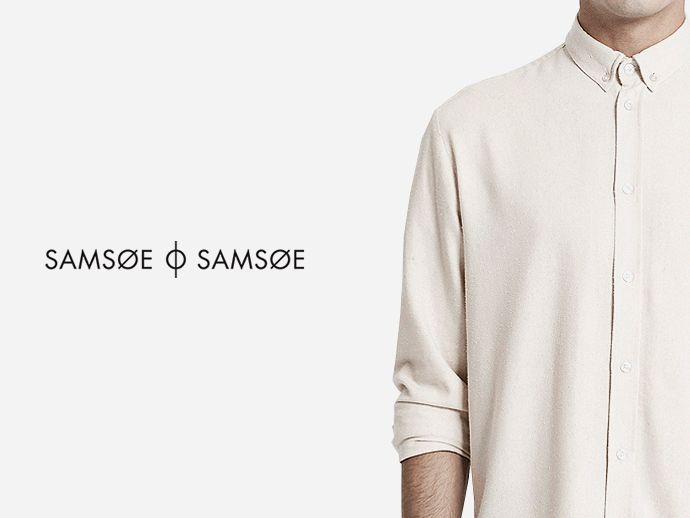Cremefarbenes Hemd aus kuschlig-weichem Stoff mit klassischem Button-down-Kragen