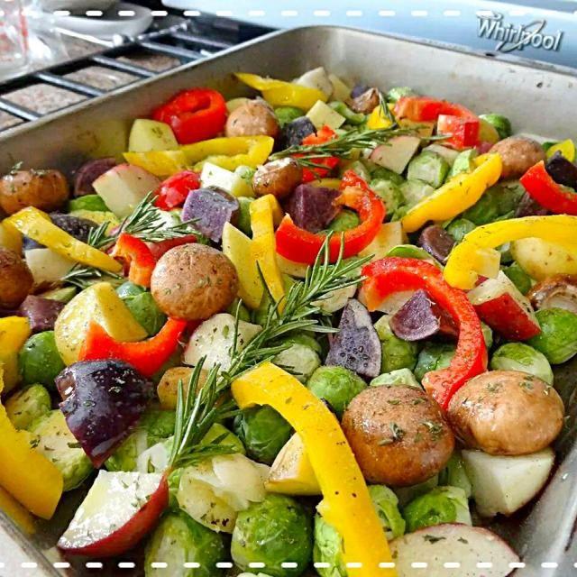 レシピとお料理がひらめくSnapDish - 34件のもぐもぐ - グリルする前のお野菜。感謝祭のside dish by The Reinharts
