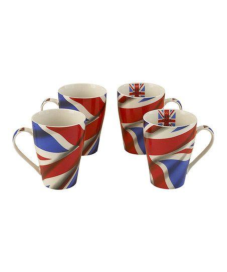 'Keep Calm' Mug - Set of Four