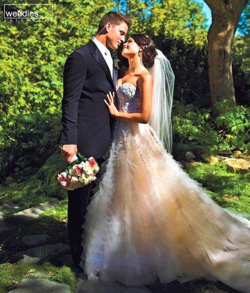 Gelinlik modeli için karar veremeyen gelin adaylarımız için ünlü ilhamımız, tüm prenses ışıltısıyla Jenna Dewan 💫  Our celebrity bridal inspiration for our bride-to-be's who haven't decided for the wedding dress model is, Jenna Dewan 💫
