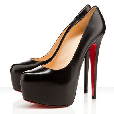 So sexy Christian Louboutins pumps: Red Bottoms, Style, Platform Pumps, Christian Louboutin Shoes, Daffodils 160Mm, High Heels, Black Pumps, Louboutin Daffodils, Christianlouboutin