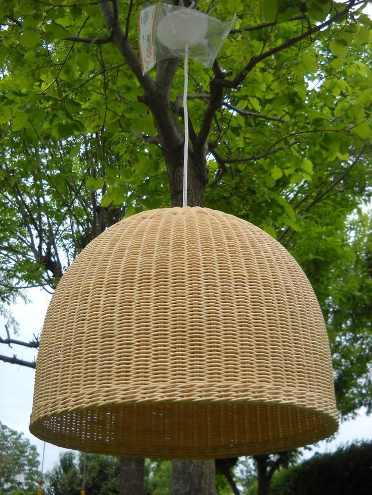 Lámparas Colgantes De Rattan Natural