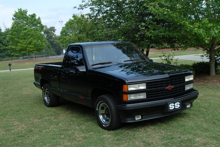 Truck Of The Year >> My 1990 454 SS. Nothing like a big block with 4.10 gearing!!! Exceptional condition for a 22 ...