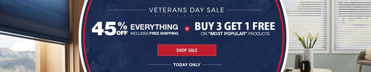 Veteran's Day Only Sale! 45% OFF Everything + Today Only - Buy 3 Get 1 FREE on Most Popular Products. Start shopping now!