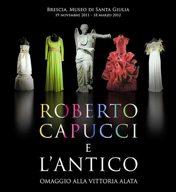 Gabinete de Curiosidades: Roberto Capucci e o Antigo. Homenagem a Vitória Alada