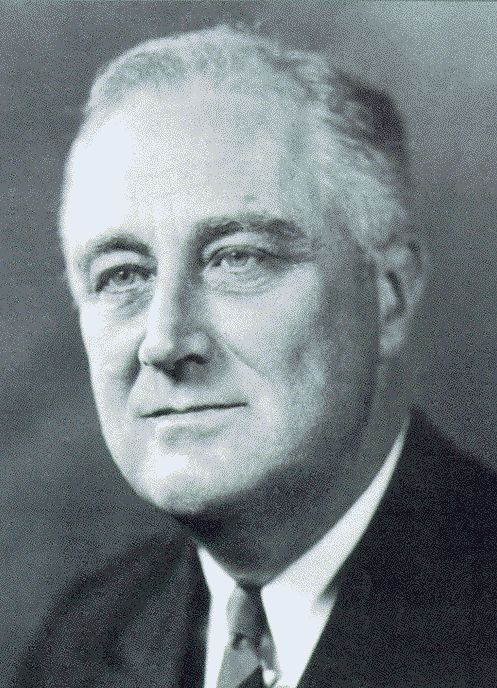FDR,  because he saved America