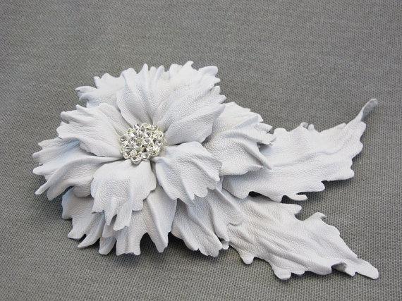 Handmade Leather Flower