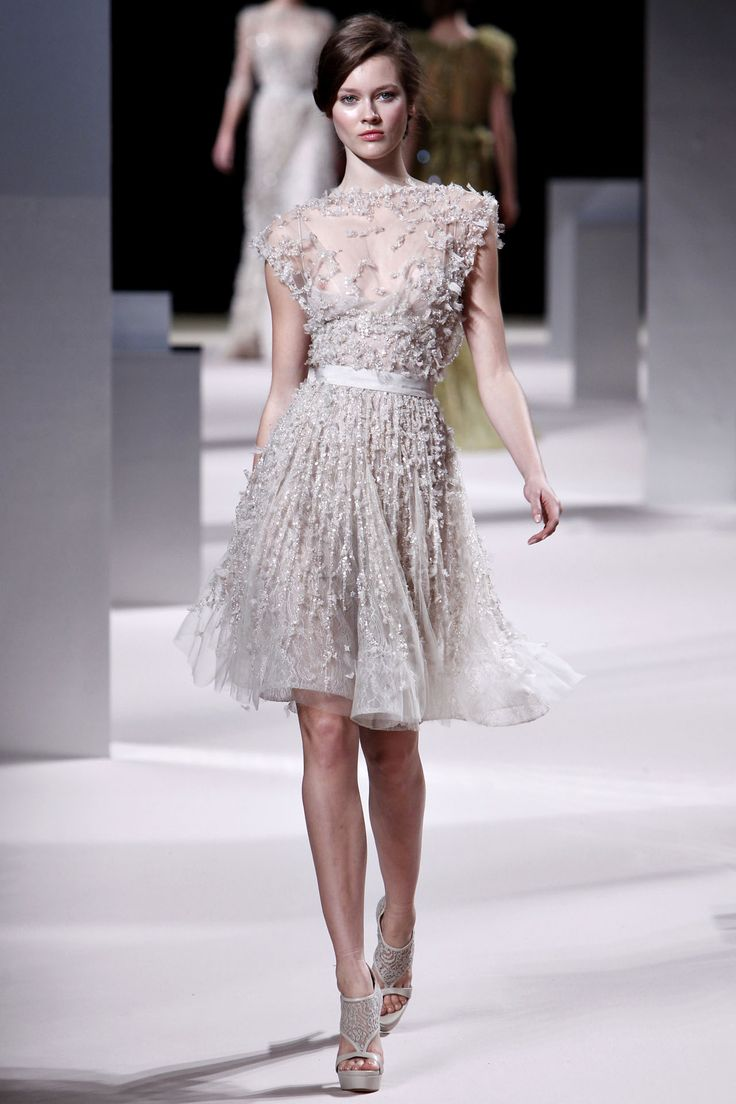 @Whitney Hunter: elie saab couture. Dream dress, just make it long instead of short!!!!! // love. love. love.