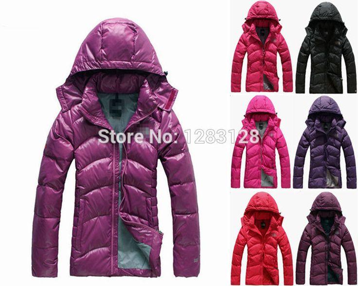 Зимняя куртка женщин 90% гусиный пух женские зимние утолщение с капюшоном короткая конструкция открытый водонепроницаемый пальто 3 цвета