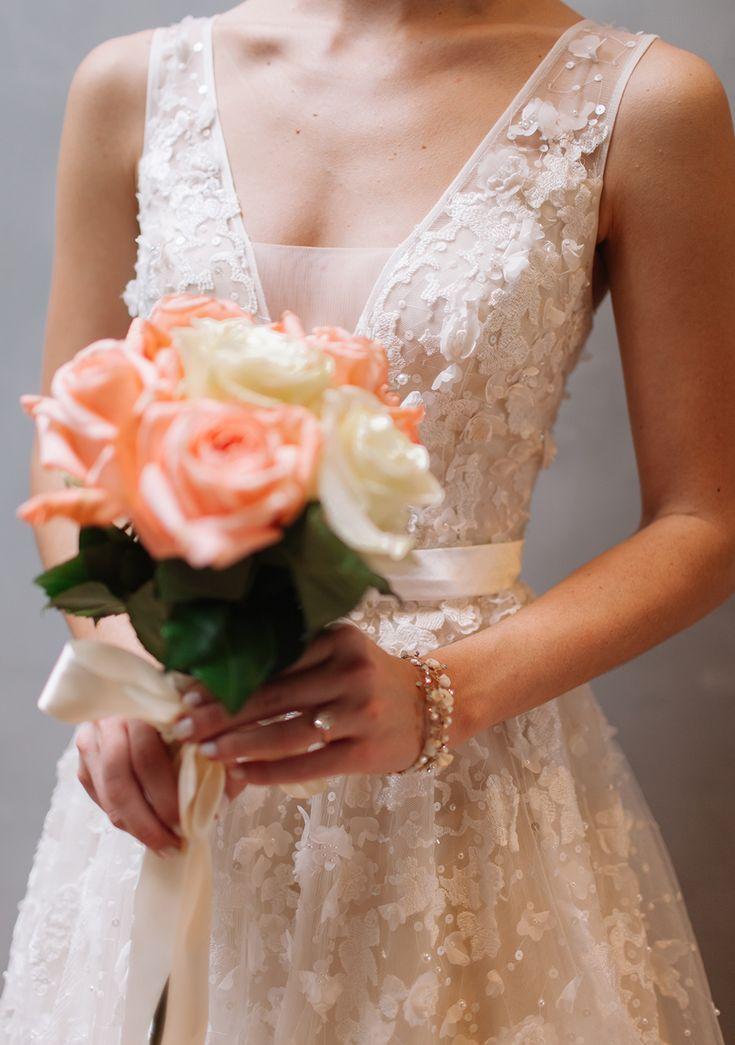 Wedding Dress Shopping at BHLDN / LivvyLand Blog