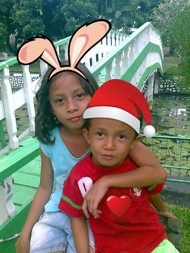 My children at PT. Pusri