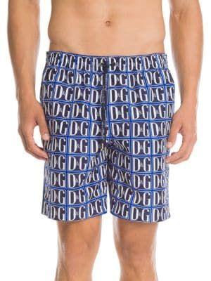 5aa429453c DOLCE & GABBANA D&G Graphic Swim Trunks. #dolcegabbana #cloth ...