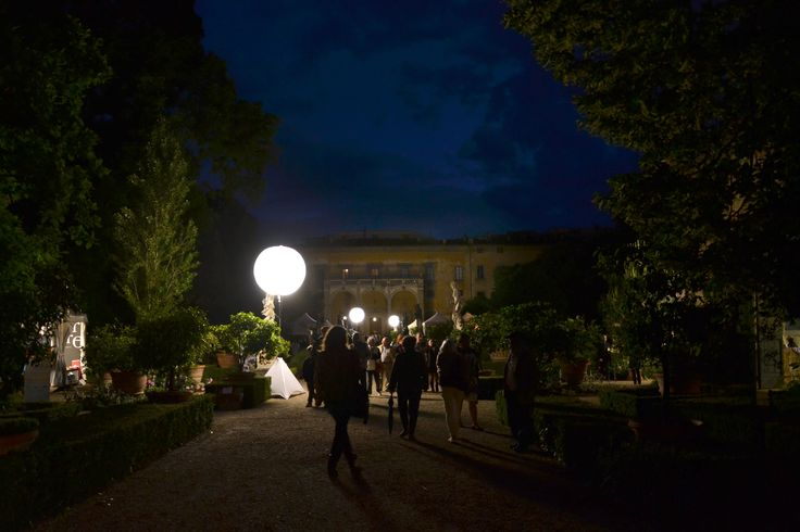 The Giardino #Corsini at night - Florence, Tuscany