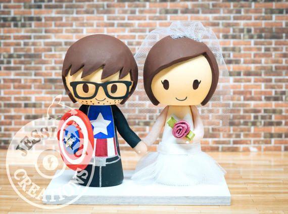 Comic Wedding Cake