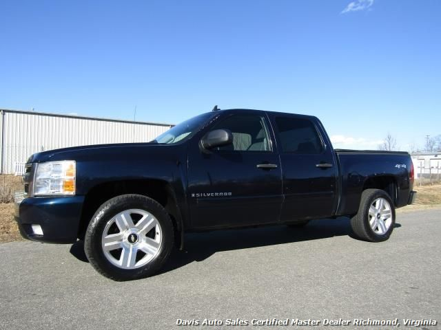 Used 2007 Chevrolet Silverado 1500 LT 4x4 4dr Crew Cab Short Bed for sale in RICHMOND, VA - $15,995 - Davis Auto Sales Certified Master Dealer Richmond, Virginia - Visit www.davis4x4.com