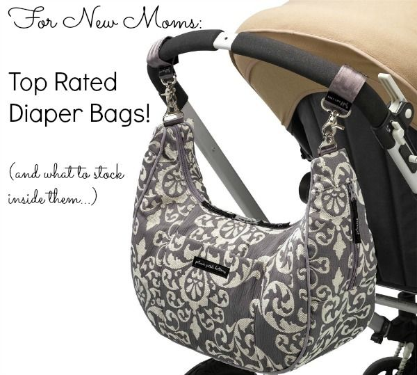 The list of top-rated diaper bags- plus what to expect to pack inside of them!