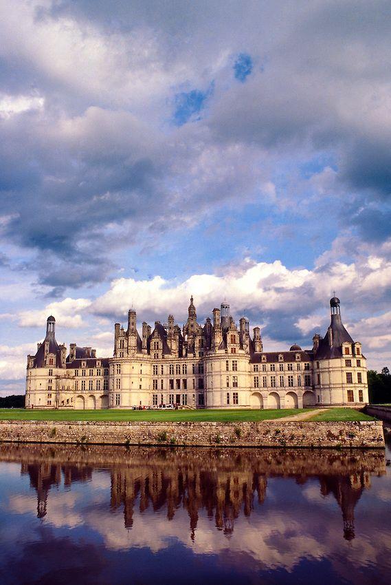 Chateau De Chambord Near Bloise Loire Valley France