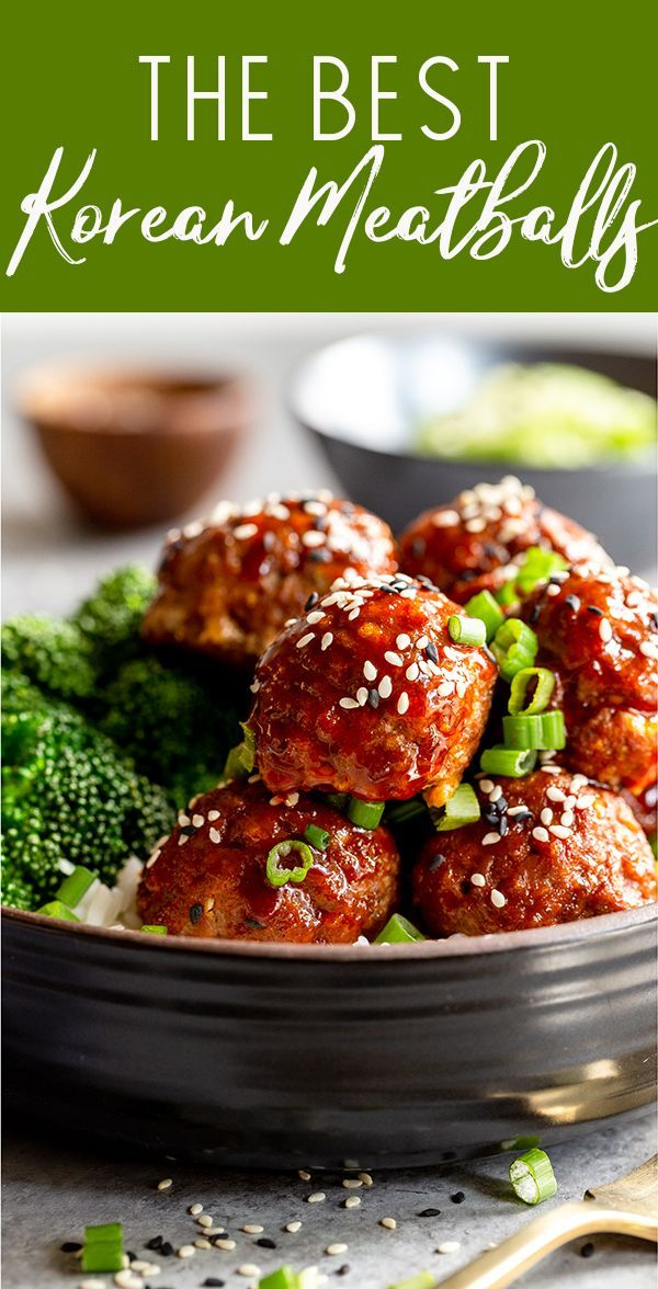 Korean Meatballs Recipe In 2020 Ground Beef Recipes Easy Beef Recipes Easy Dinners Recipes