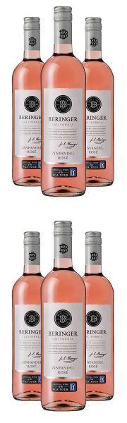 Beringer Classic Zinfandel Rosé - Bestseller im Aktionspaket 2015