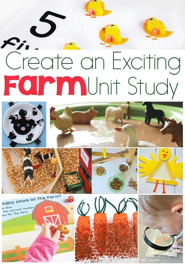 345 best Farm Theme images on Pinterest   Farm animals ...
